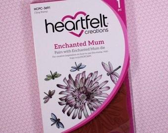 Heartfelt Creations Cling Rubber Stamp Set ~ Enchanted Mum, HCPC3691