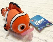 Nemo Beanie Binky - Similar to Wubbanub and Pacimals, you choose the color of Soothie!