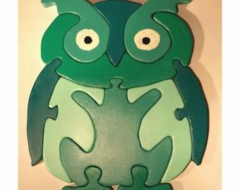 Owl - Green