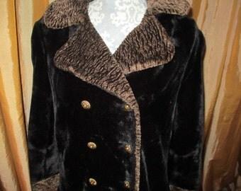 Fur Overcoat  by PECK &PECK