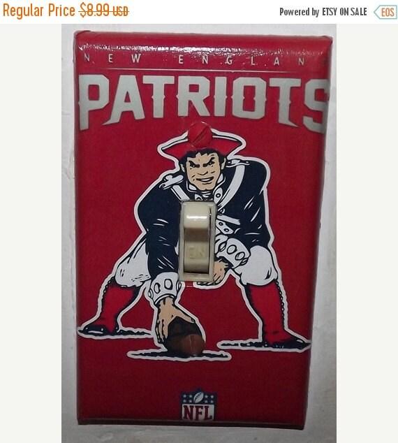 On Sale New England Patriots Light Switch By Superherowallart