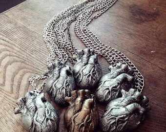 Anatomical Heart You're My Person Grey's Anatomy Necklace