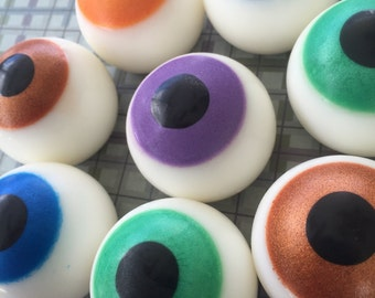 Eyeball Soap - Halloween Soap - Eye Soap - Halloween Favor - Gift Soap - Novelty Soap - Eye Soap Favor