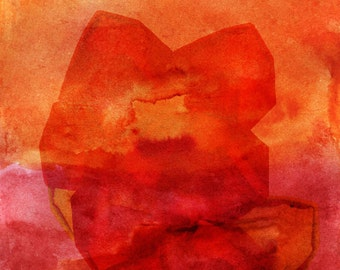 Abstract red-passion. Graphic design/photography. Red, red. Photography, Orange