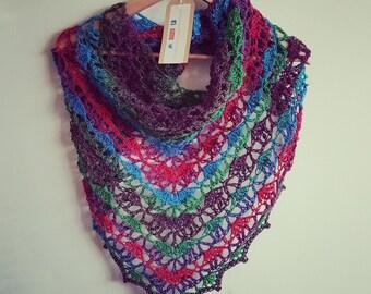 Crochet Festival wrap/Scarf