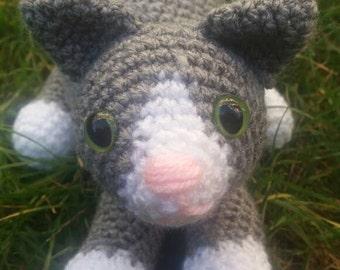 Customised Crocheted Cat