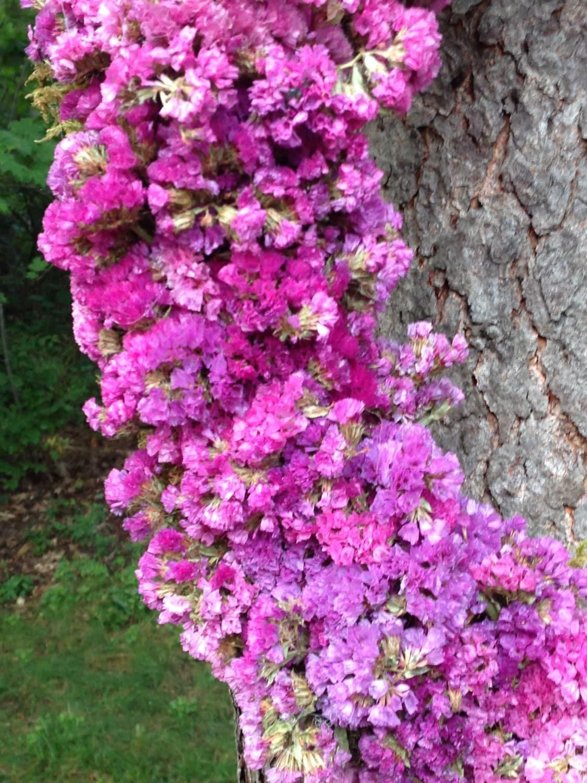 SALE! 20 Handmade Circular Wreath, Purple, Raspberry, Plum, Lavender ...