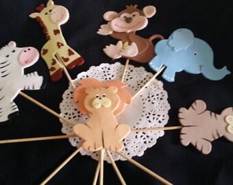 Jungle Centerpiece, Giraffe Centerpiece, Safari Baby Shower, Giraffe Baby Shower, Elephant Cake Decoration, Giraffe Birthday Party, Jungle
