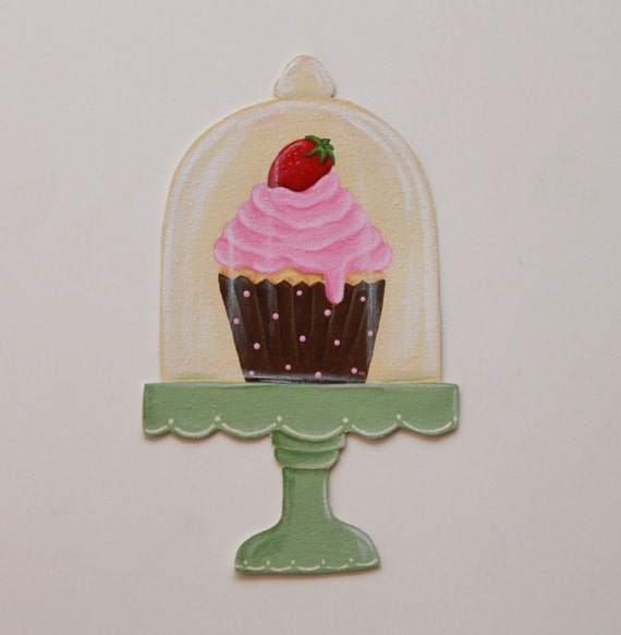 Cupcake wall decor Bakery decor Cupcake decor Cupcake