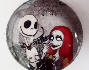 Jack and Sally Cabochon,25mm