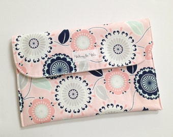 Diaper clutch, diaper bag, diaper bag organizer
