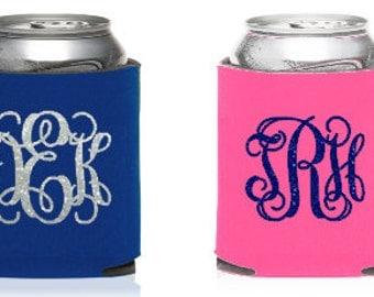 Monogram  KOOZIE® or Can holder, Custom KOOZIE®, Personalized Can Holders