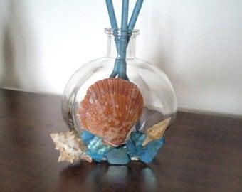 Small Sea Shell and Mosiac Tile Fragrance Diffuser