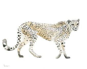 Cheetah Instant Download DIGITAL PRINT