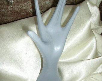 Vintage Mid-Century Hand Display Store Display Jewelry Display Skinny Fingers Very Retro