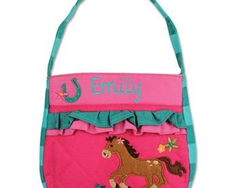 Personalized Toddler Girl Horse Purse, Toddler Kid's Horse Purse, Birthday Gift, Horse Purse