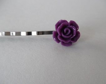 Purple Hair Pin ( set of 2)