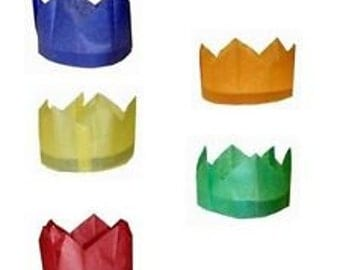 Paper Crowns