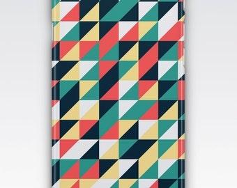 Case for iPhone 8, iPhone 6s,  iPhone 6 Plus,  iPhone 5s,  iPhone SE,  iPhone 5c,  iPhone 7  - Retro Geometric Triangle Design