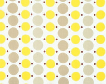 Katie Jump Rope by Denyse Schmidt for Free Spirit Fabrics - Big Dot in Sunflower
