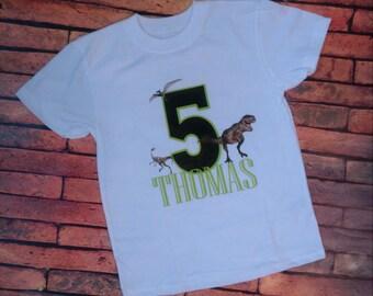 Jurassic Park Birthday Shirt
