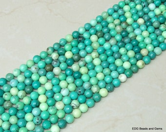 Green Chrysoprase 10mm Round Beads - Multifaceted Beads - Half Strand