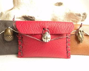 Emergency Sewing Kit - Travel Sewing Kit - Sewing Kit - Needle Case - Needle Book - Ladybird - Fox