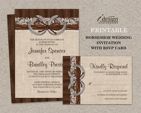 diy country wedding invitation kits - 28 images - diy rustic wedding ...