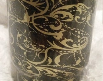 Yeti Cup 30oz Black and Gold