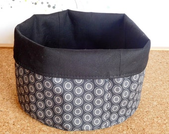 Ovals ~ Storage Box, Storage Basket, Fabric Basket, Fabric Organizer, Storage Bin