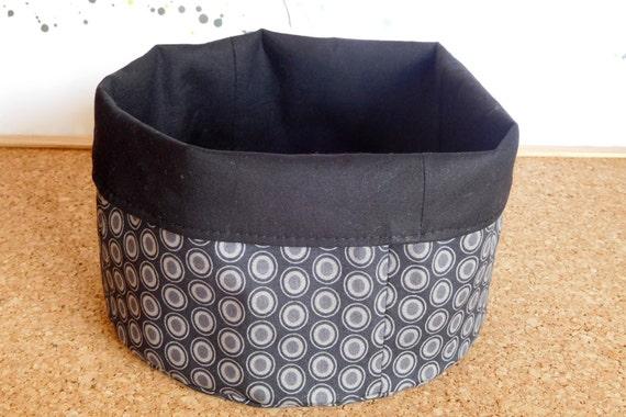 Ovals ~ Storage Box, Storage Basket, Fabric Basket, Fabric Organizer, Storage Bin