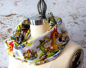 Calvin and Hobbes Wizard of Oz Mish-Mash Infinity Scarf