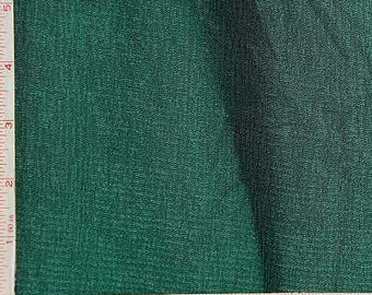 "Dark Green Slinky Rib Fabric 4 Way Stretch Nylon Spandex Lycra 9 Oz 58-60"""