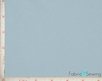 Light Blue Dimple Mock Mesh Sport Fabric 2 Way Stretch Polyester 6.5 Oz 58-60""
