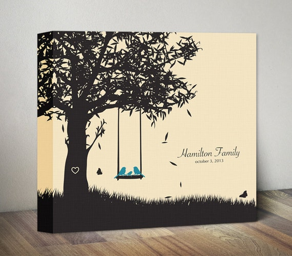 Family Canvas Gift for Couples Gift for Wife Husband Wedding Gift ...