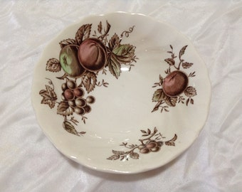 Johnson Brothers HARVEST TIME BROWN Cereal or Soup Bowl