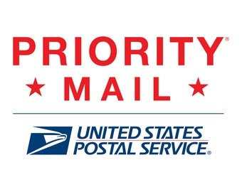 USPS Priority Mail Upgrade (2-4 days estimated shipping time)