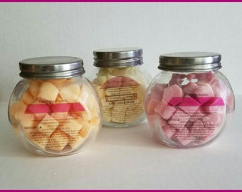3 Jars of Scented Soy Wax Melts Package