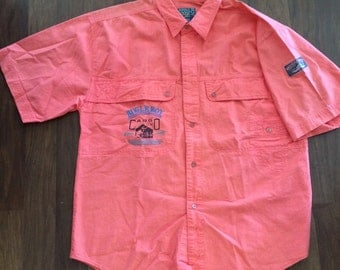 Vintage Bugle Boy button up shirt