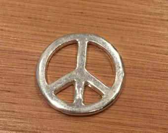 3 Peace Sign Charm