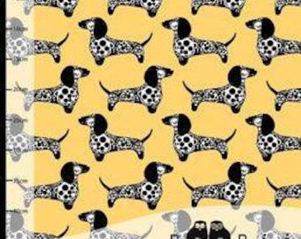 Paapii Organic Jersey - Raksu Dog Yellow