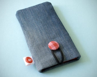 """Smartphone Cover """"stonewashed"""" - L"""