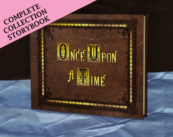 Henry's Once Upon A Time Storybook (inspired)- The Complete Collection - EDITION 1 - Full size - Made To Order
