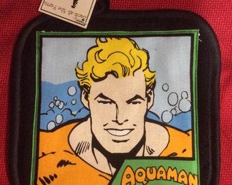 Aquaman single pot holder oven mitt