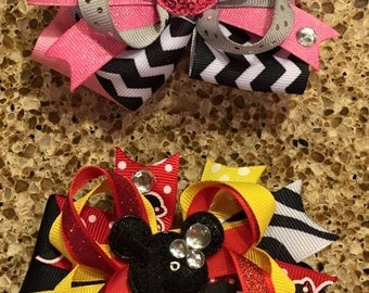 Disney Inspired Boutique Bows-Made to Order