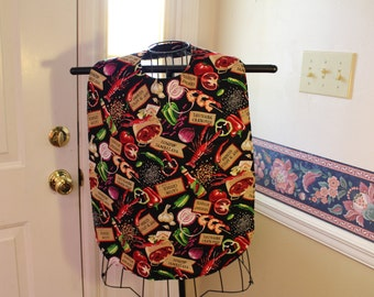 Adult bib, shirt saver