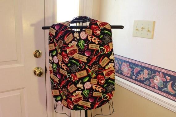 Adult bib shirt saver