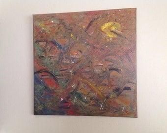 Original ArtWork-Abstract-Home Decor-Life Style-Canvas Art.