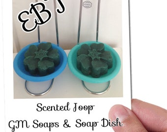 Joop scented GM Soap and Dish