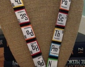 Science Teacher Periodic Table Lanyard ID Holder Badge Holder ID Badge